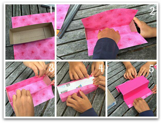 Step 2 main box lining