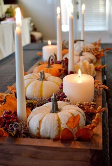 10 Fantastic fall ideas for your homes- including inspiration for table decor, outside decorations, and ways to get crafty with the season!
