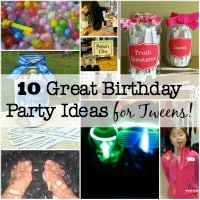 If you plan on hosting ten 4th graders at your home on a Saturday afternoon- you need a game plan on how you are going to entertain your party guests! So here are a few ideas for Birthday Party Games for Tweens!