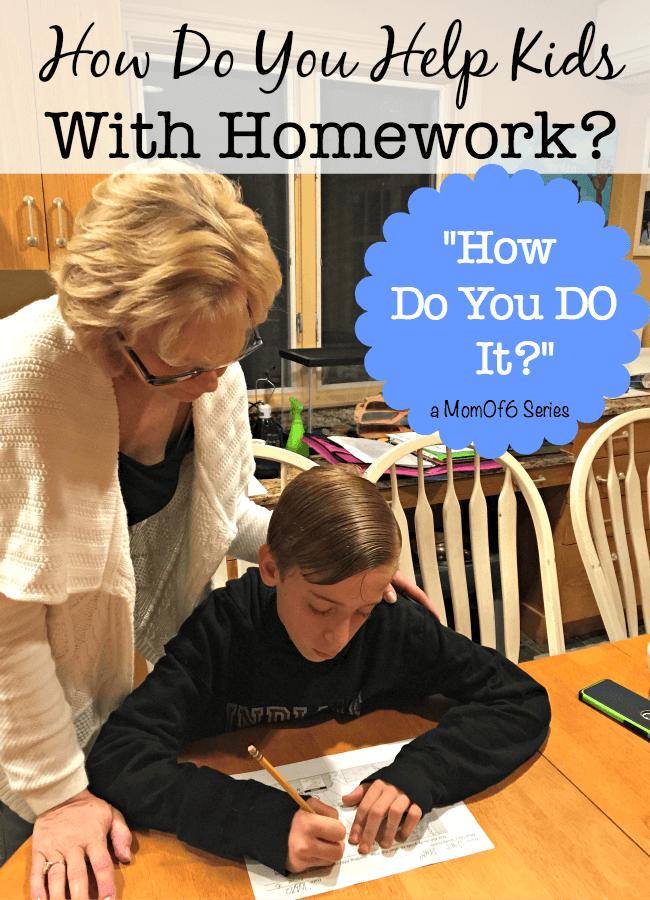 help with kids homework