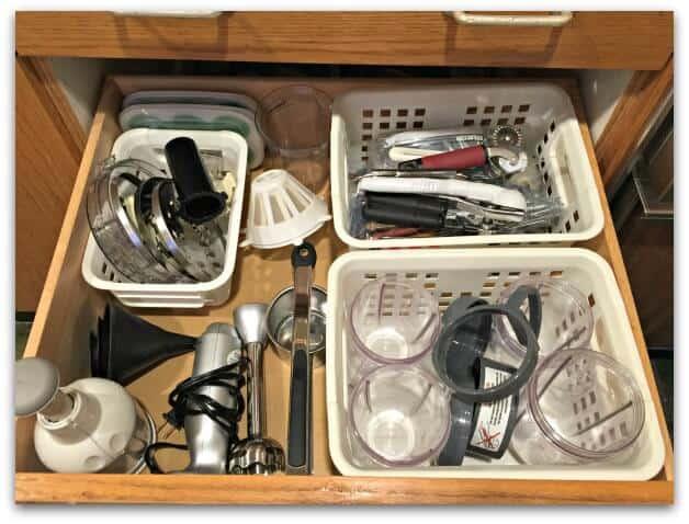 Kitchen Drawer After