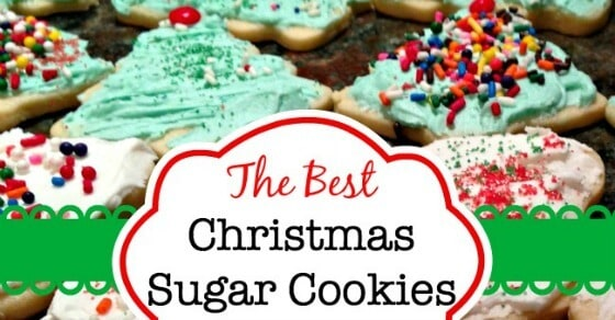 the best christmas sugar cookies ever