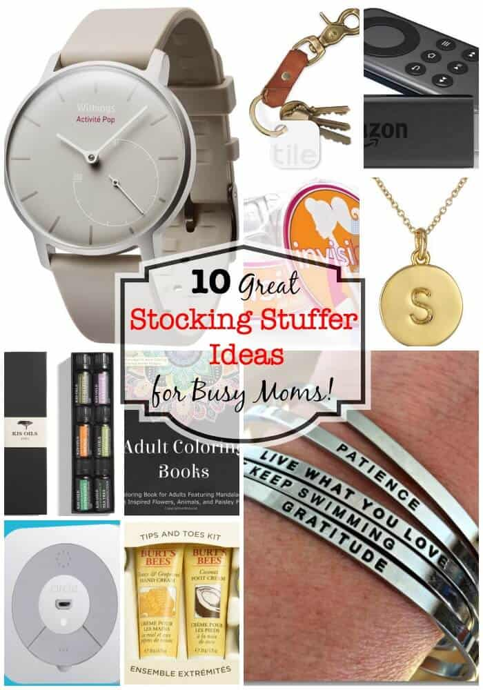 10 Great Stocking Stuffer Ideas For Busy Moms Momof6