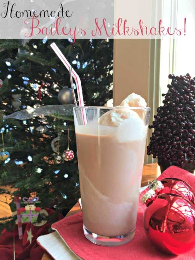 Here's a great new holiday tradition (for grown ups only, of course!). Whip up some homemade Baileys to sip while decorating the tree! Serve it over ice or even over scoops of ice cream!