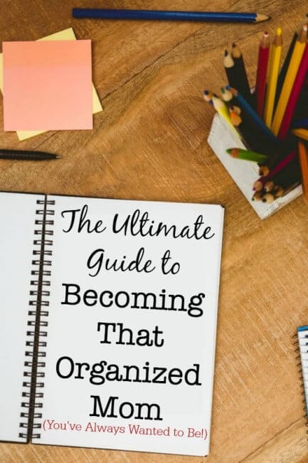 I've created an eBay Guide that give you all of the details on all of the tools that I love that help me to be an uber-organized Mom! Please head on over and see everything you need to manage your schedule, deal with the constant flow of papers into your home, and how to create your own menu planning board!