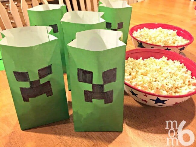 Minecraft is such a fun birthday party theme for tweens! This post has great ideas for your own Minecraft party- including how to make this easy homemade Creeper Cake!