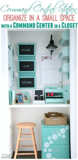 I would be lost without the organization that my command center provides me and my family! And I love to be further inspired by how other busy Moms put together their own command centers. So let's take a look at 15 Fantastic Command Centers that Help Busy Moms Stay Organized!