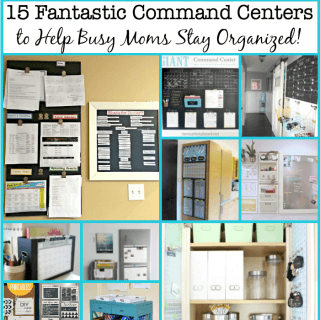 15 Fantastic Command Centers to Help Busy Moms Stay Organized!