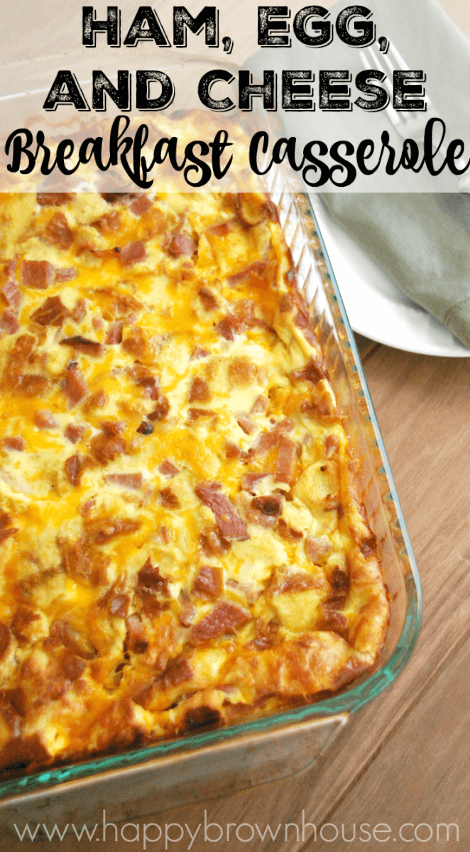 Ham And Cheese Egg Casserole Recipe — Dishmaps