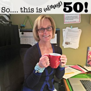 So….. This is (Almost) 50!