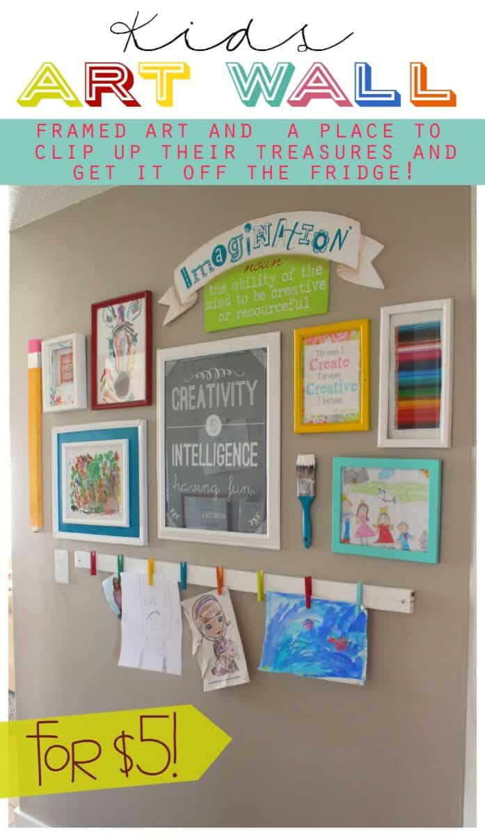 20 organized kids bedroom ideas momof6 for Display bedroom ideas