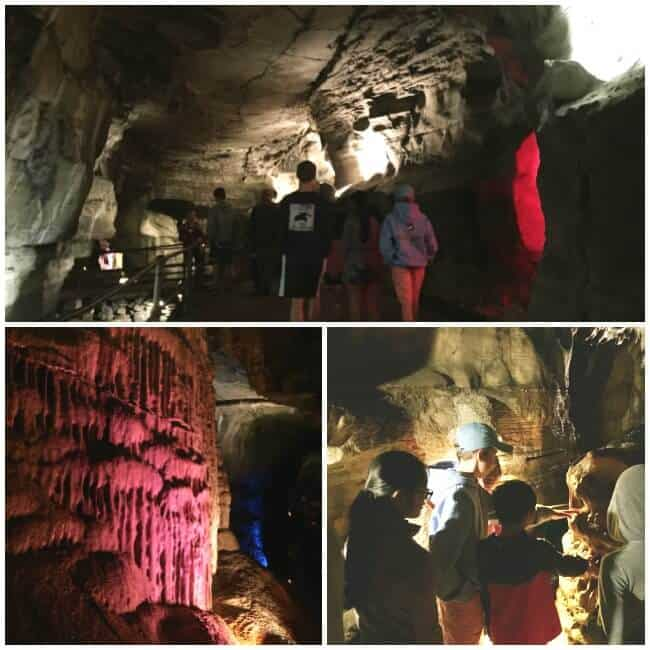 We recently ventured underground to take a tour of a cave! Howe Caverns, located about 40 minutes outside of Albany, is New York's most visited natural attraction after Niagara Falls- and it is perfect for a family road trip!