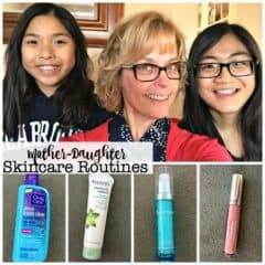 Mother-Daughter Skincare Routines