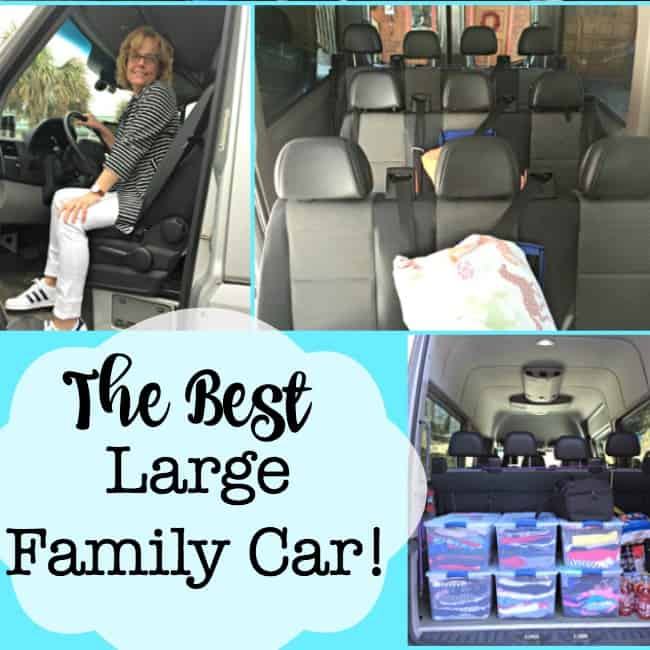The Best Large Family Car (When You Have 6 Kids!)