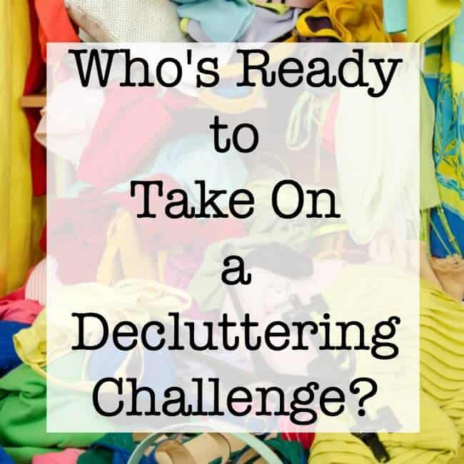 Who's Ready to Take On a Decluttering Challenge?