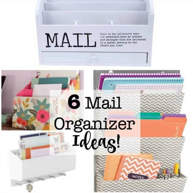 6 Mail Organizer Ideas!