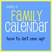 "Building a Family Calendar System- How to Set It Up, and the ""Weekly Planning Ritual"""