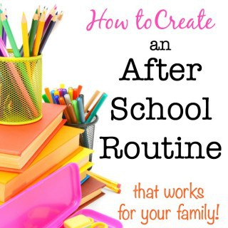 Here's how to put into place a flexible after school routine that allows your kids some time to wind down after a big day at school before moving into all of the after school work and activities that follow.