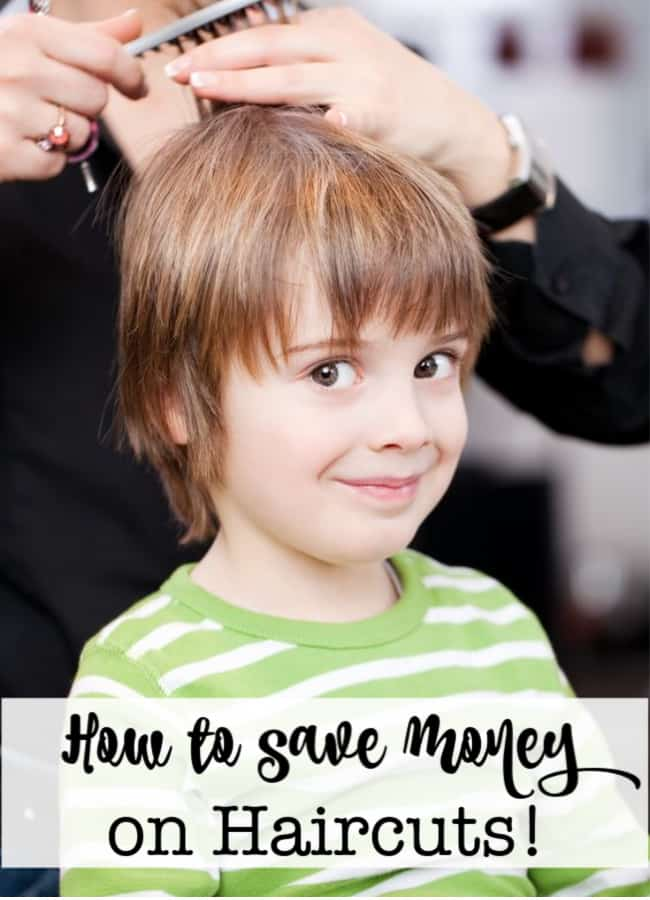 Raising six kids can be expensive! But over the years we've figured out a few unique ways to save some money. Here's how to save money on haircuts for the family!
