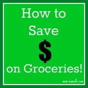 How to Save Money on Groceries (Part 1) Know what you are currently paying for your grocery items