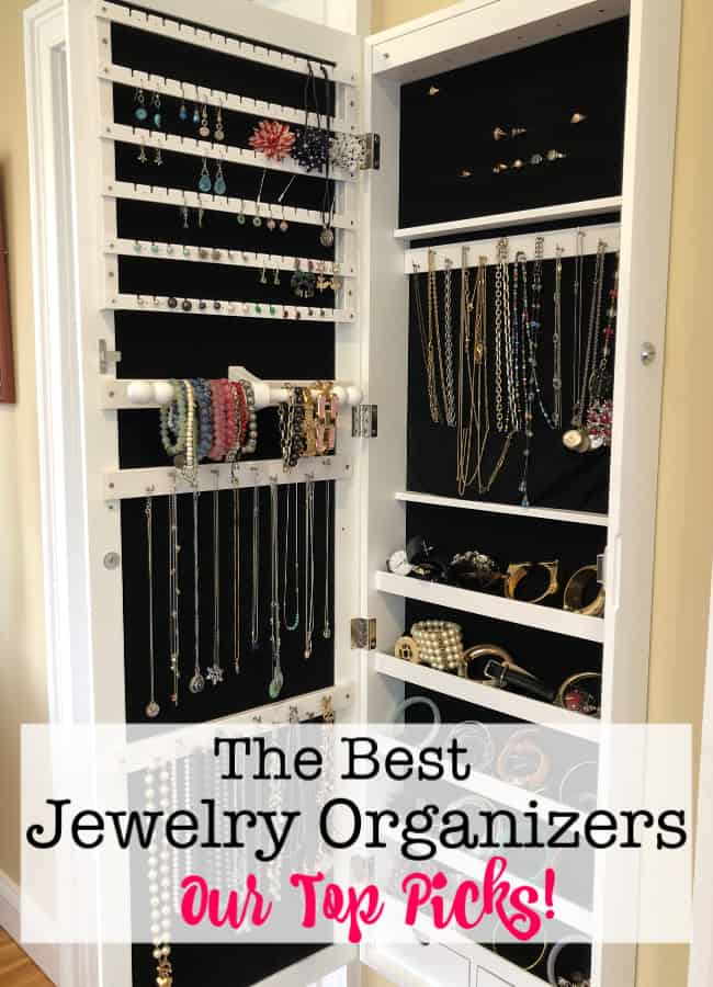 "Whether your collection is mainly costume jewelry or made up of the ""real deal""- your jewelry was an investment. So you want to take great care of it- and use it! Here are the best jewelry organizers that can help!"
