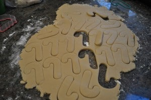 Christmas Cookies….  Sugar Cookie Cut Outs!