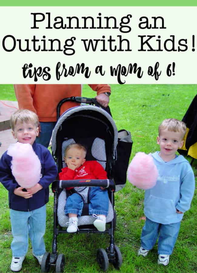 For those times when I plan an outing for my 6 kids to someplace fun- like the zoo, the movies, the museum, or some such adventure- Here are my tips on planning an outing with kids!