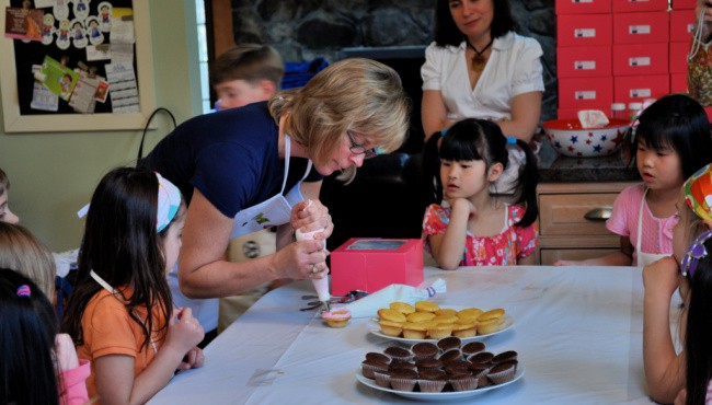 baking party for kids