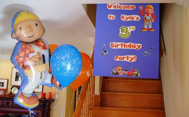 bob the builder party decorations