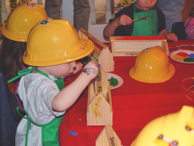 bob the builder party activities