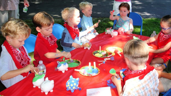 barnyard birthday party craft