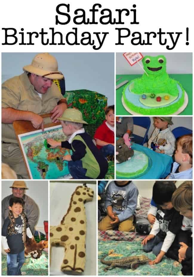 When planning kids parties, hire someone to come to your home and provide the entertainment! We have done this with our Safari Birthday Party! Here's how to throw one of your own!