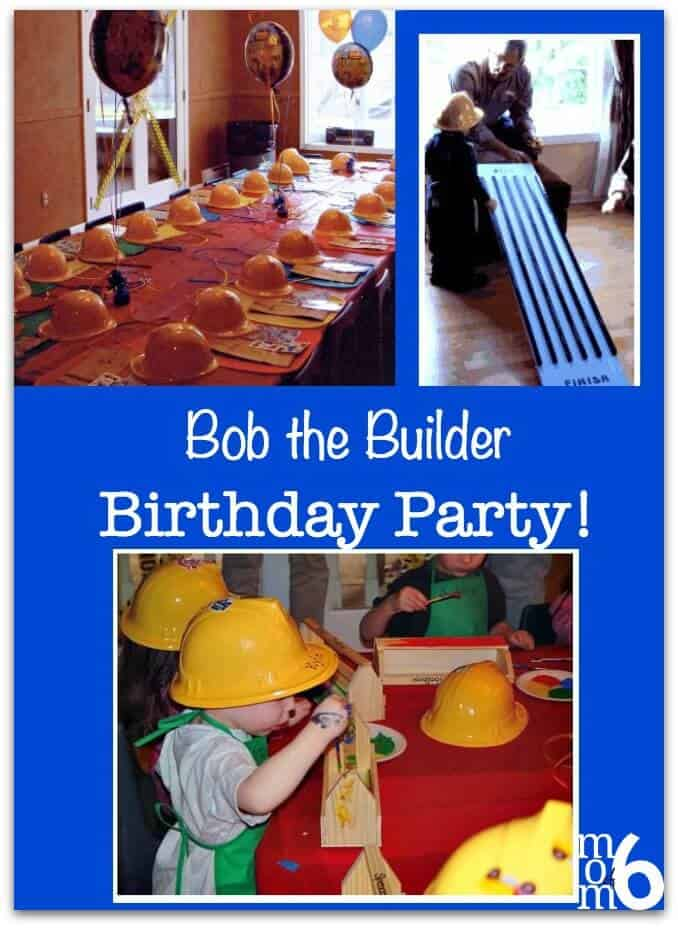 My First Ever At Home Birthday Party Was This Bob The Builder For 3