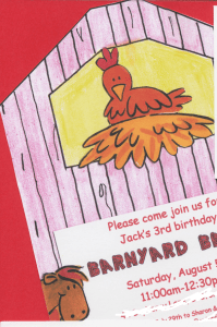 Great 3 Year Old Birthday Party Idea: A Barnyard Bash!