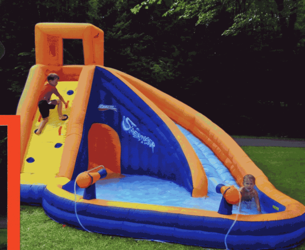 waterslide birthday party