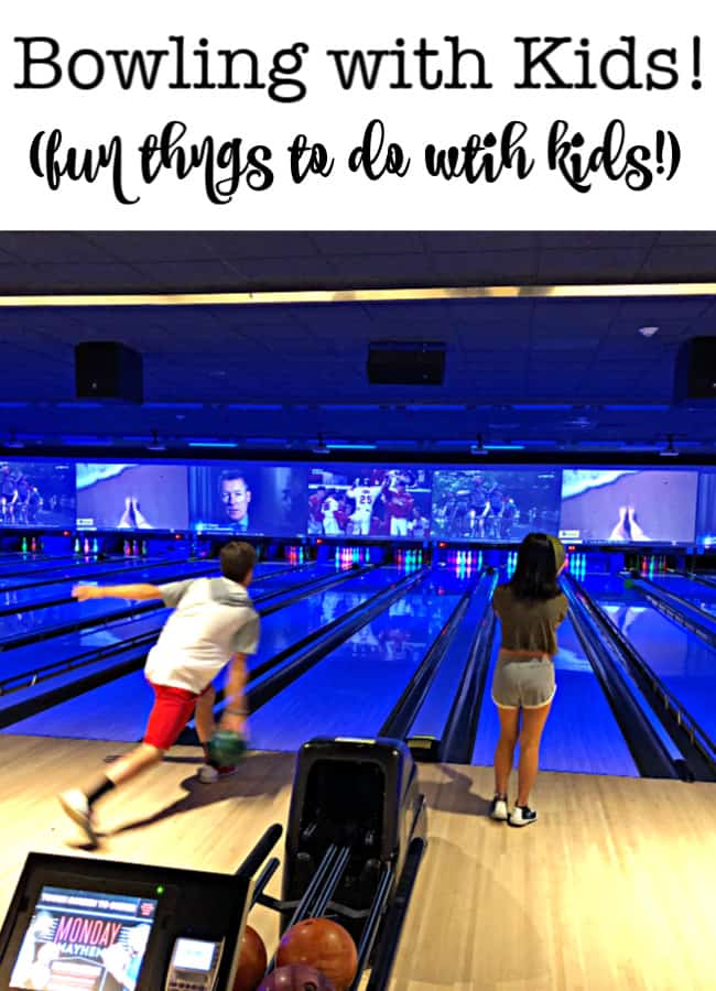 Since bowling is an indoor and air-conditioned activity- it makes for a great DIY summer camp field trip, especially on a rainy day!  I have a few tips for you to make summer bowling with kids inexpensive and fun!