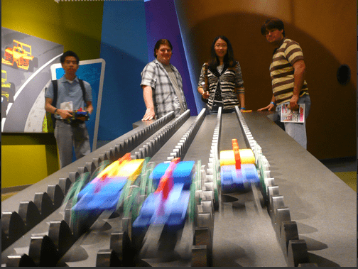 CT Science Center racing lego cars A great summer camp at home field trip Science Centers!