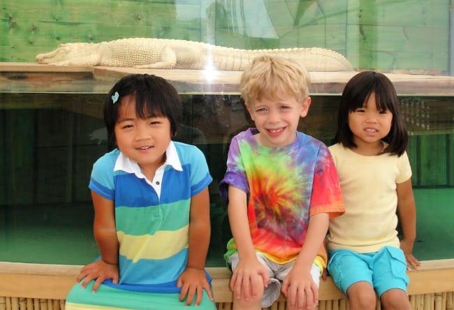 aquariums with kids