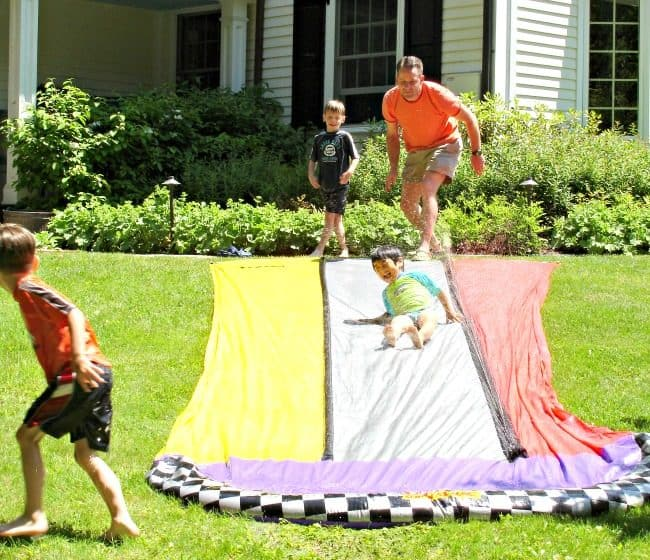 kids slip 'n slide