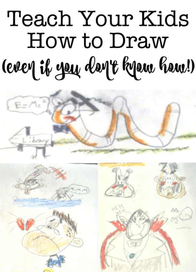 My kids said that they wanted to learn how to draw this summer- but drawing is not in my personal skill set! So I found 3 ways to teach kids how to draw!