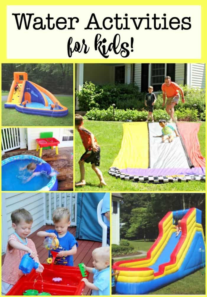 outdoor water activities