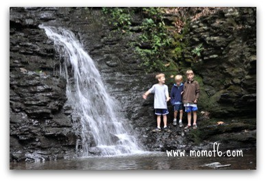 Summer Camp At Home Field Trip… Visit a Waterfall!