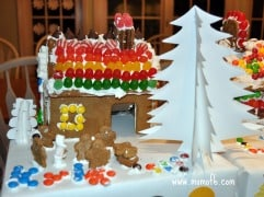 How To Make Homemade Gingerbread Houses (…even when things don't go as planned)!
