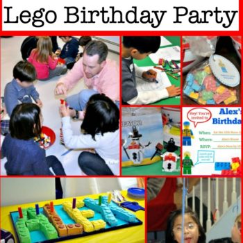 Great Ideas for a Lego Birthday Party {with free printable invites and more!}