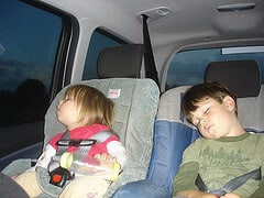 Should I leave my kids alone in the car- for just a moment?