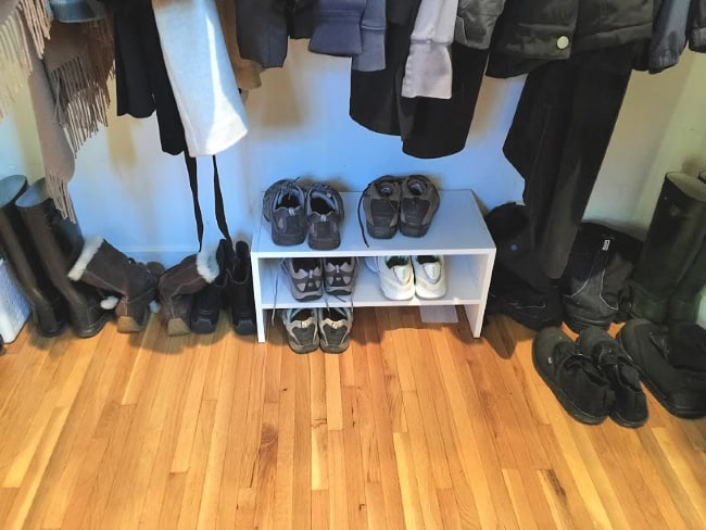use the right tools to keep a closet organized