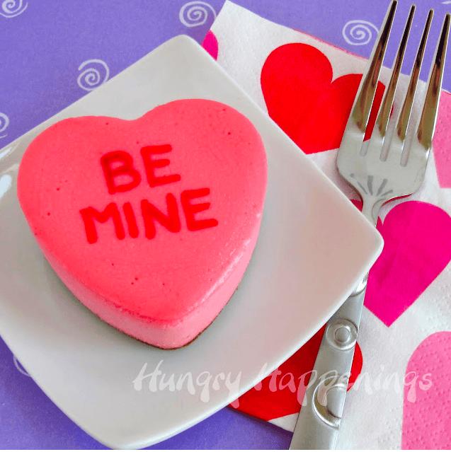 Valentine's cheesecakes