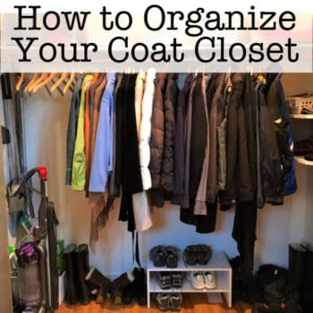 How to Clean Out and Organize Your Coat Closet