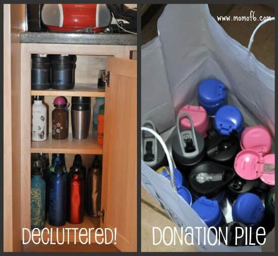 The Declutter Your Life Challenge: Working Towards An Organized Basement!