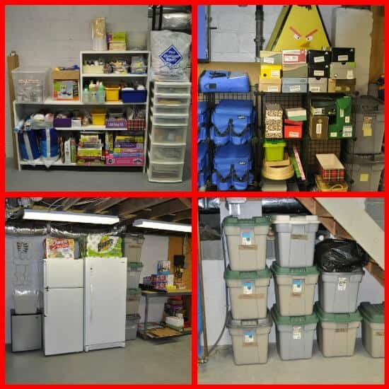 We decluttered our over-stuffed basement in just 29 days! Here's how to declutter YOUR basement! (Great tips here!)